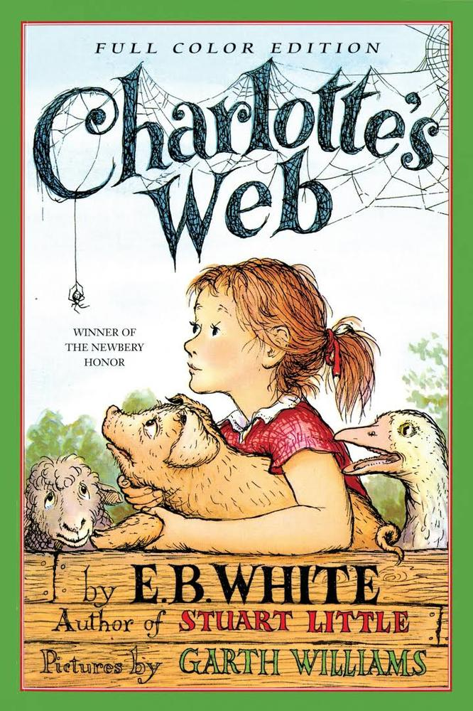 Writing prompt from the book Charlotte's Web. These kids are becoming good writers.