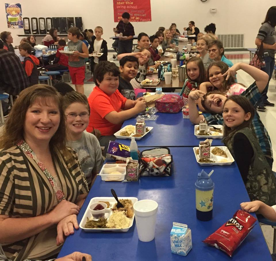 Thanks to all who came out to eat Thanksgiving lunch with our CMS family!